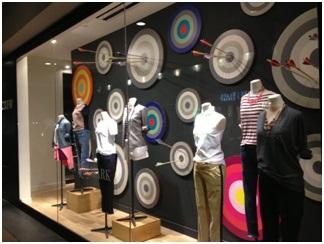 fb1e464de1e ... η αρχιτεκτονική του, οι κατασκευές που πρόκειται να γίνουν, τα είδη των  display, τα χρώματα οροφής-τοίχων-δαπέδου, ο φυσικός φωτισμός του κλπ.