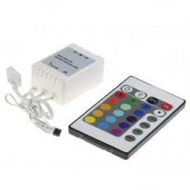 ΑΣΥΡΜΑΤΟ CONTROLLER ΓΙΑ ΤΑΙΝΙΑ LED RGB 12/24V 72W